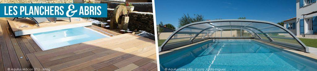 planchers et abris de piscines Aquilus