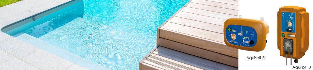 Automatisé le contrôle du taux de ph de votre piscine c'est possible avec l'Aqui pH3 d'Aquilus