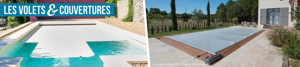 Volets et couvertures de piscines Aquilus