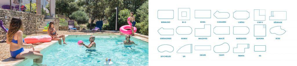 Découvrez nos modèles de piscine, avec Aquilus, ce sont des possibilités infinies !
