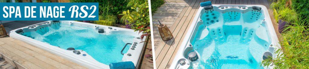 Découvrez la gamme de spa de nage Aquilus alliant détente et pratique du sport